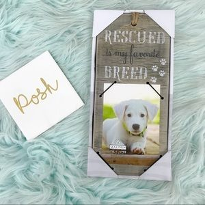 Malden Rescued is My Favorite Breed Picture Frame